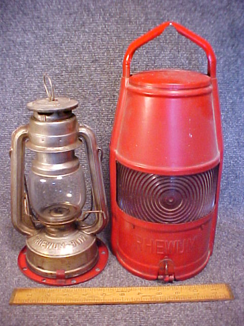 Rhewum Blitz lantern found in Bemidji MN -2