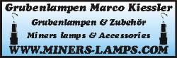 Grubenlampen Miners Lamps Marco Kiessler