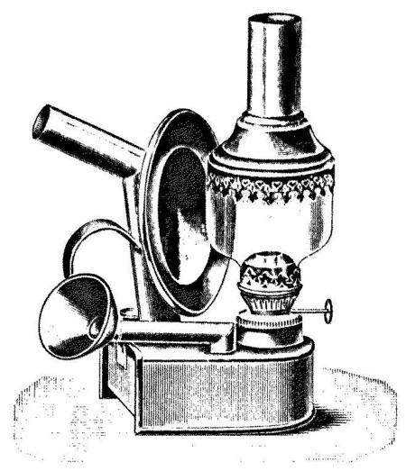 Goldbergkatalog 1906: Backofenlampe von Friedrich Hoffmann