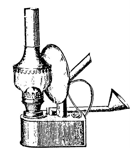 Goldbergkatalog 1911: Backofenlampe der Gebr. Kaiser, Neheim