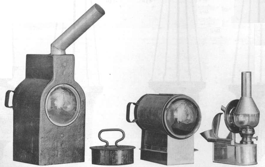 Backofenlampe von JC Giessing 1915
