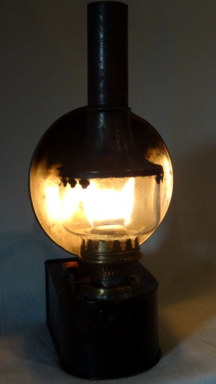 Oberles Petroleum-Backofenlampe: Inbetriebnahme Der Lampe 2