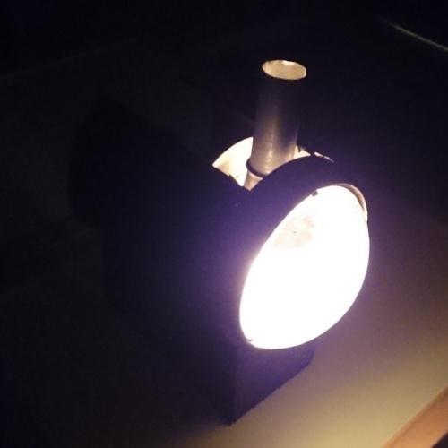 Lampe in Betrieb 3