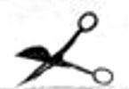 Oberles Petroleum-Backofenlampe: Dochtschere