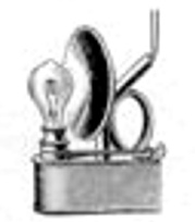 Oberles Petroleum-Backofenlampe: Lampe elektro