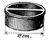 Oberles Petroleum-Backofenlampe: Gusskapsel