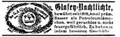 Glafey Nachtlichte 1883