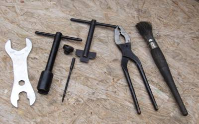 Übersicht Werkzeug BVB Kocher