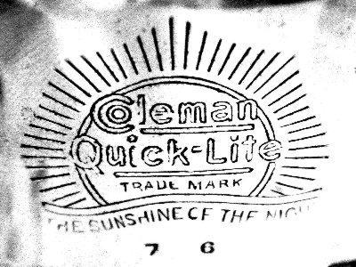 Logo Coleman CQ Table Lamp