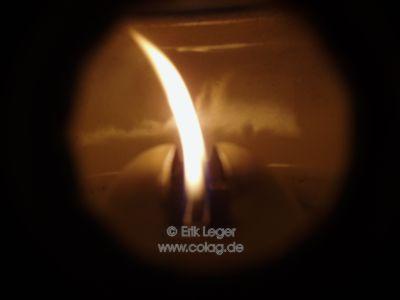 Hallerkocher Flammenbild