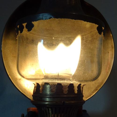 Flammenbild der Lampe 1