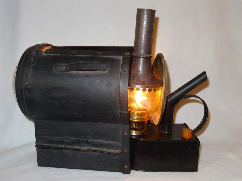 Oberles Petroleum-Backofenlampe: Lampe und Laterne
