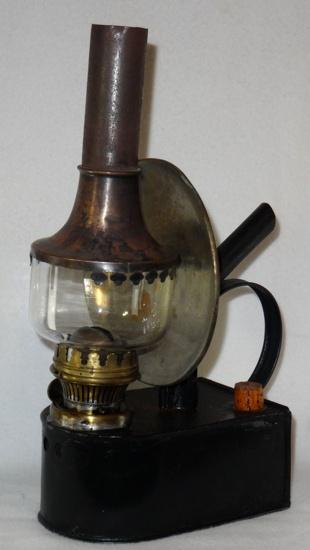 Oberles Petroleum-Backofenlampe: Die Petroleumlampe Ansicht 1