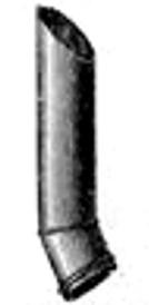 Oberles Petroleum-Backofenlampe: Abzugsrohr