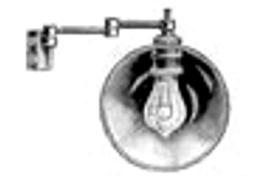Oberles Petroleum-Backofenlampe: Gelenkarm eletkro