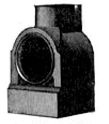 Oberles Petroleum-Backofenlampe: Gussmantel