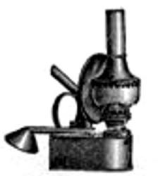 Oberles Petroleum-Backofenlampe: Lampe