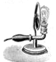 Oberles Petroleum-Backofenlampe: Staender elektro