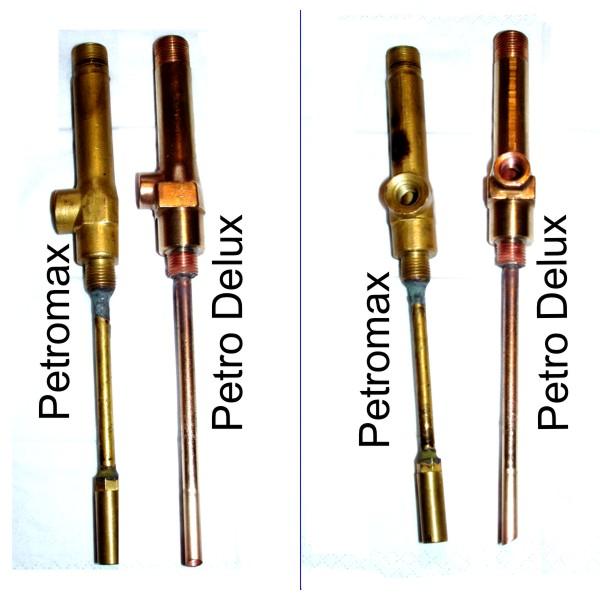Vergleichsbild Vergaserunterteile